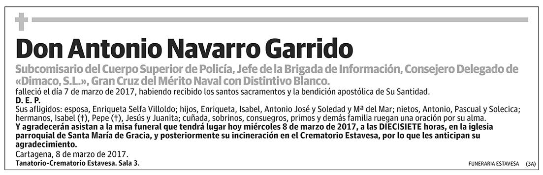 Antonio Navarro Garrido