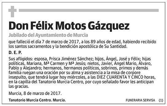 Félix Motos Gázquez