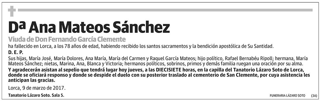 Ana Mateos Sánchez