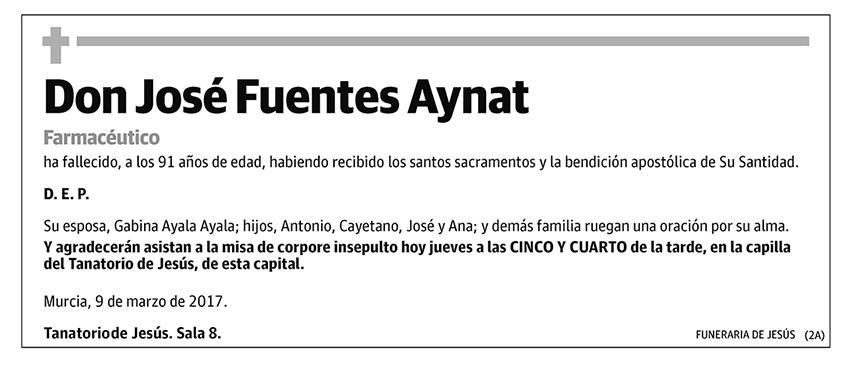 José Fuentes Aynat