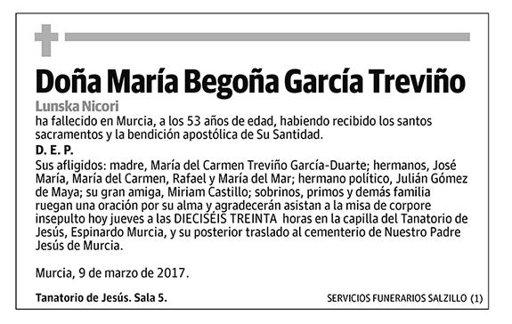 María Begoña García Treviño