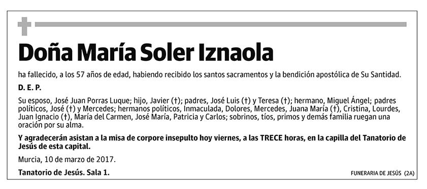 María Soler Iznaola