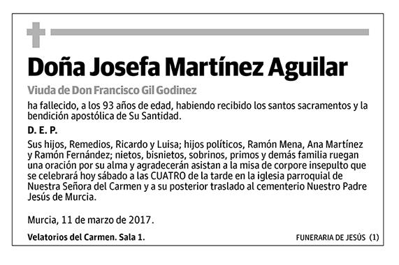Josefa Martínez Aguilar