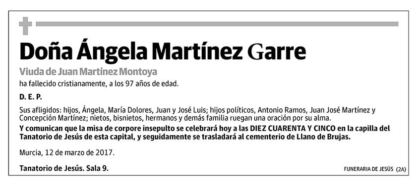 Ángela Martínez Garre
