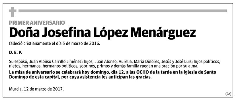 Josefina López Menárguez