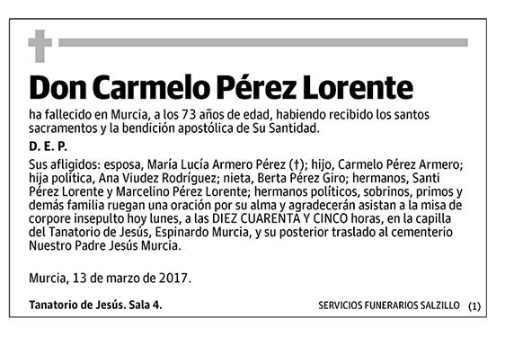 Carmelo Pérez Lorente