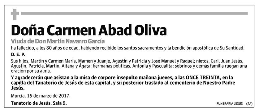 Carmen Abad Olivia