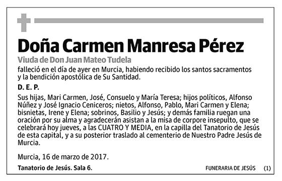 Carmen Manresa Pérez