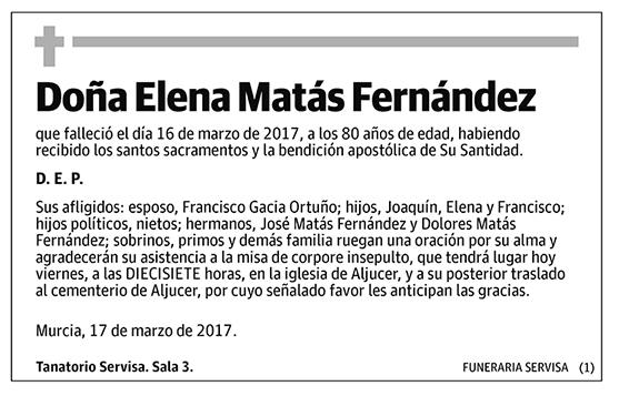 Elena Matás Fernández