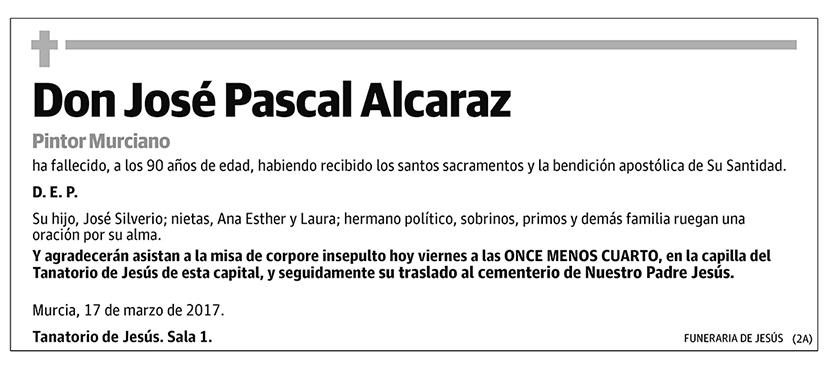 José Pascal Alcaraz