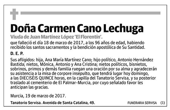 Carmen Cano Lechuga