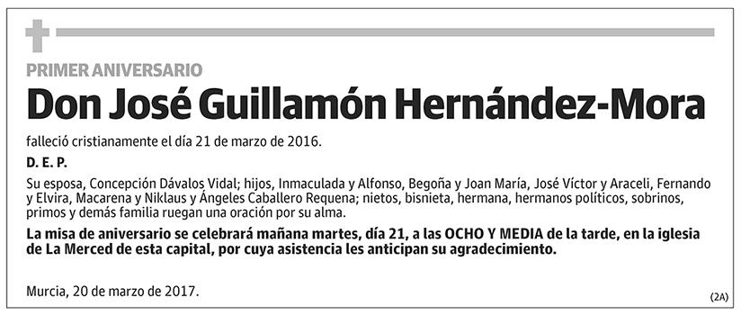 José Guillamón Hernández-Mora