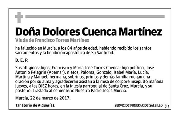 Dolores Cuenca Martínez