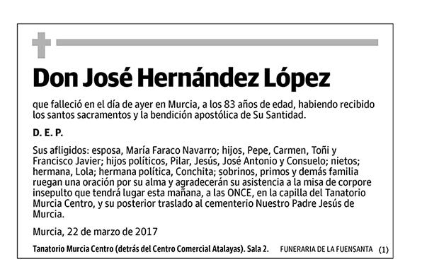 José Hernández López