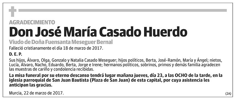 José María Casado Huerdo