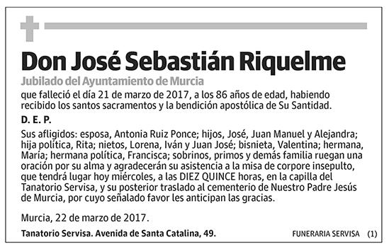 José Sebastián Riquelme