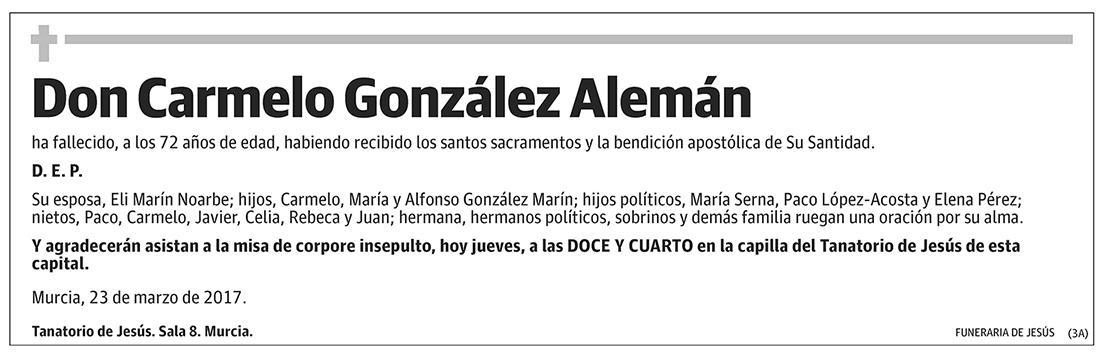Carmelo González Alemán