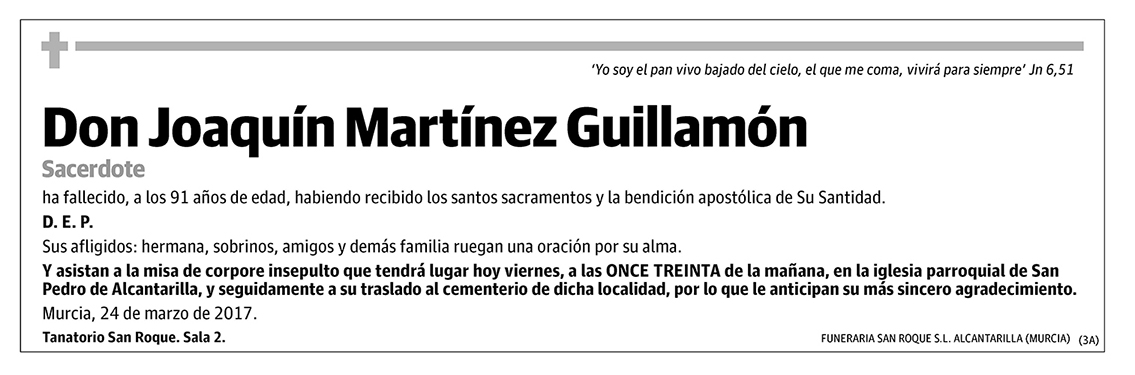 Joaquin Martínez Guillamón