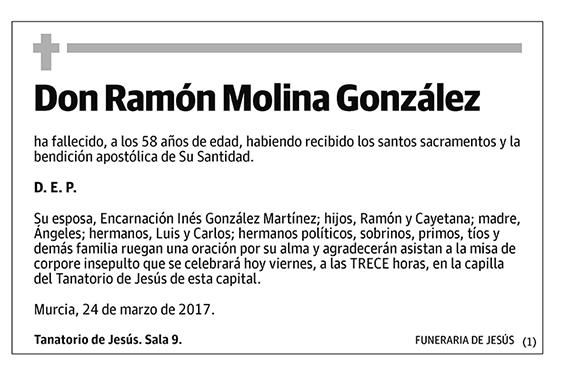 Ramón Molina González