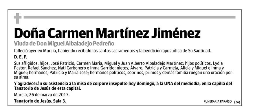 Carmen Martínez Jiménez