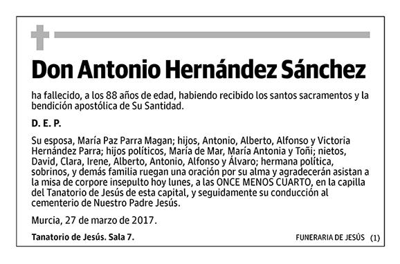 Antonio Hernández Sánchez