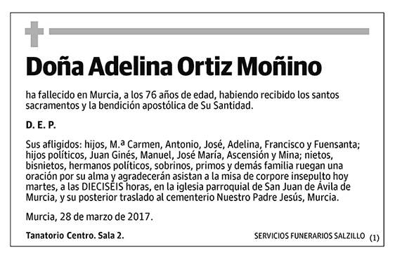 Adelina Ortiz Moñino