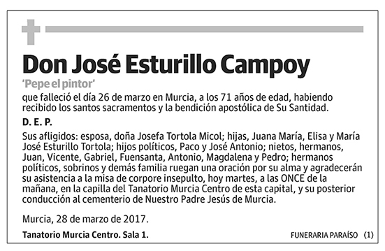 José Esturillo Campoy