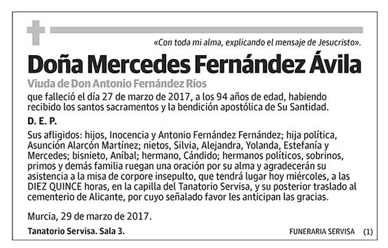 Mercedes Fernández Ávila