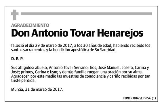 Antonio Tovar Henarejos