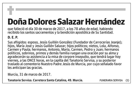 Dolores Salazar Hernández