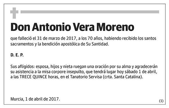 Antonio Vera Moreno
