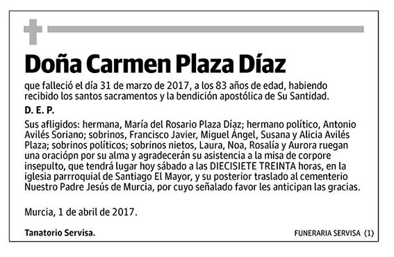 Carmen Plaza Díaz