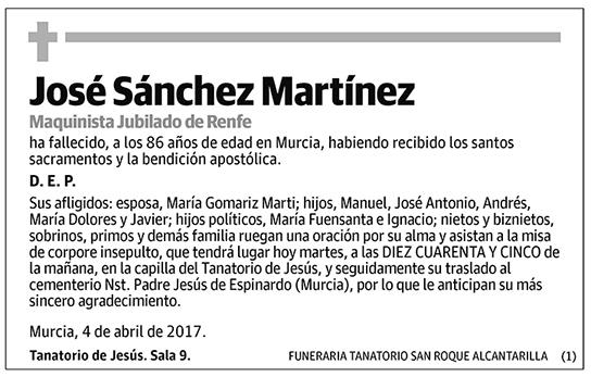 José Sánchez Martínez