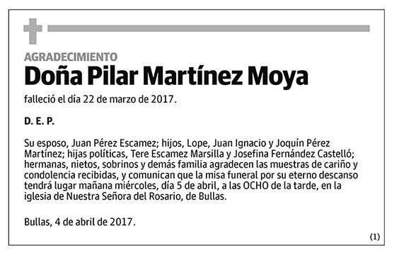 Pilar Martínez Moya