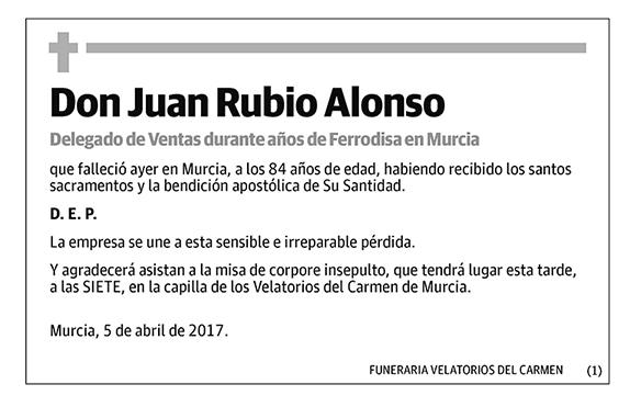 Juan Rubio Alonso