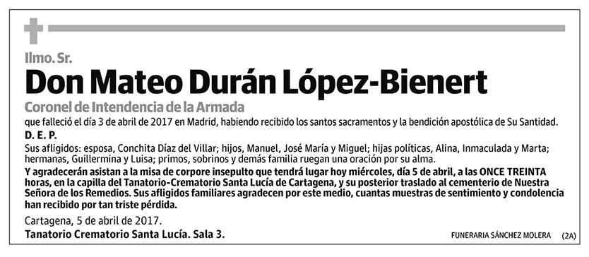 Mateo Durán López-Bienert