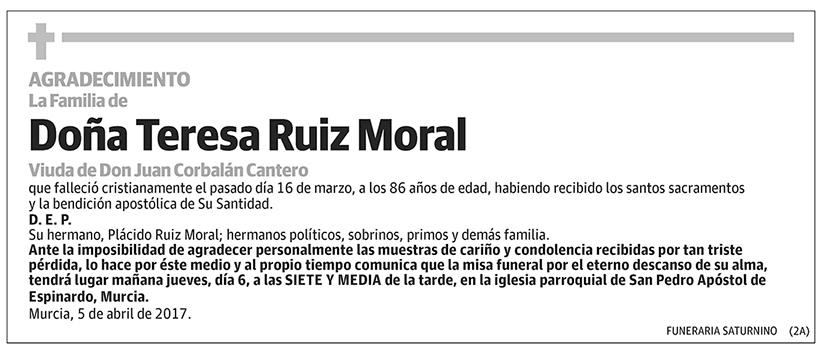 Teresa Ruiz Moral