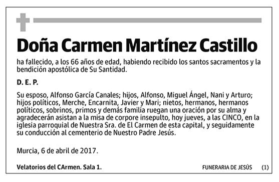 Carmen Martínez Castillo