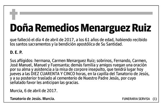 Remedios Menarguez Ruiz