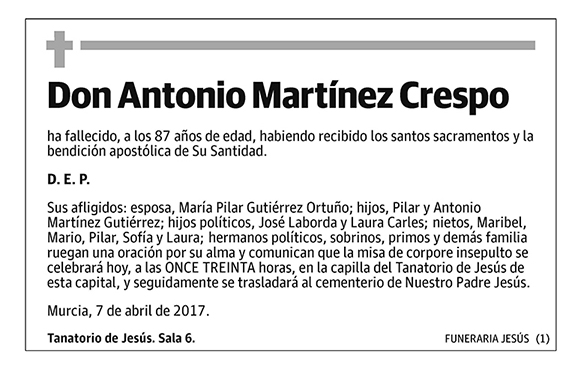 Antonio Martínez Crespo