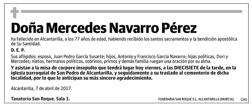 Mercedes Navarro Pérez