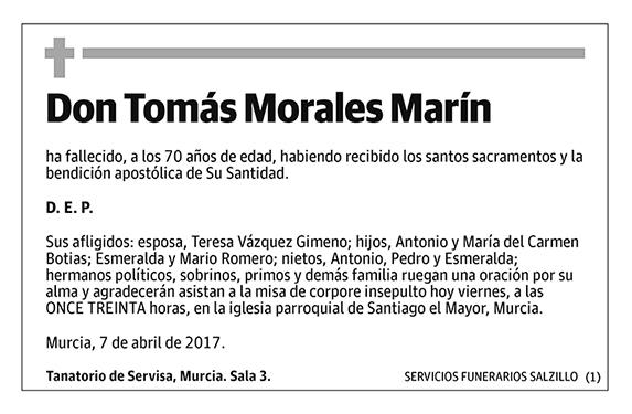Tomás Morales Marín