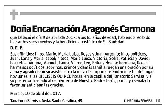 Encarnación Aragonés Carmona