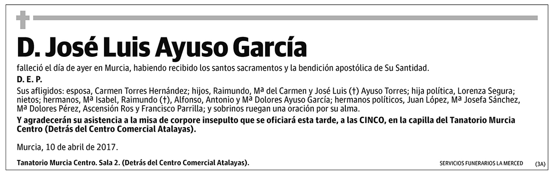 José Luis Ayuso García