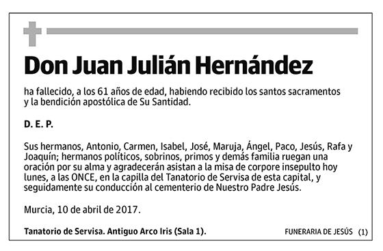 Juan Julián Hernández