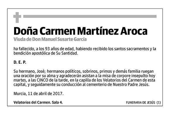 Carmen Martínez Aroca