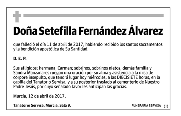Setefilla Fernández Álvarez