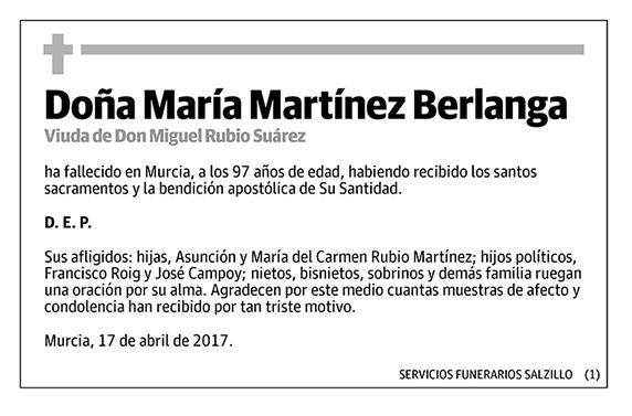 María Martínez Berlanga