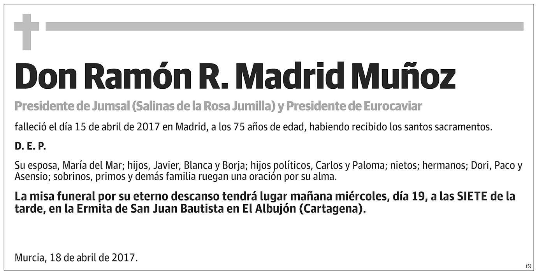 Ramón R. Madrid Muñoz