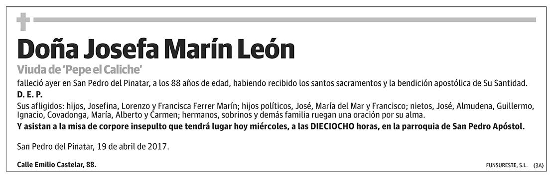 Josefa Marín León